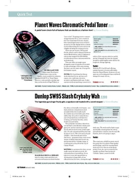 Chromatic Pedal Tuner