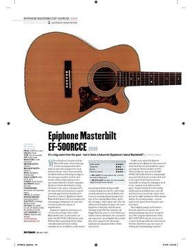 Epiphone Masterbilt EF500RCCE