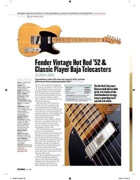 Fender Vintage Classic Player Baja Telecaster