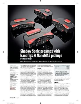 Shadow Sonic NanoMAG