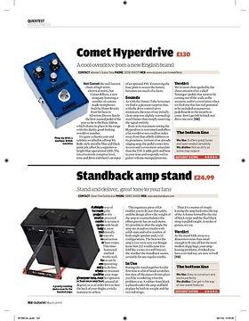 Standback amp stand