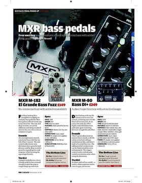 MXR M80 Bass DI+