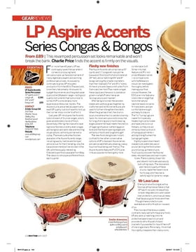 LP Aspire Accents Series Congas and Bongos