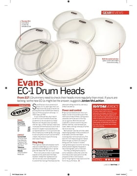 Evans EC1 Drum Heads