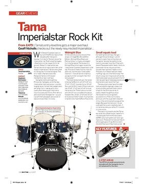Tama Imperialstar Rock Kit