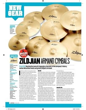Zildjian Armand Cymbals