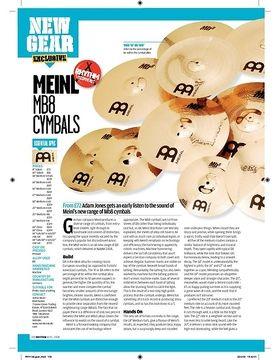 Meinl MB8 cymbals