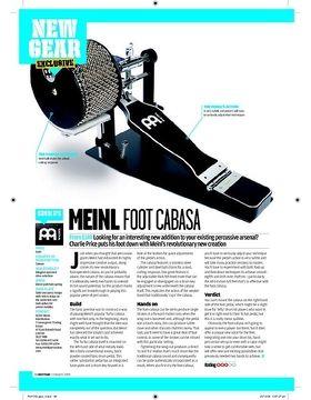 Meinl Foot Cabasa
