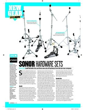 SONOR HARDWARE SETS