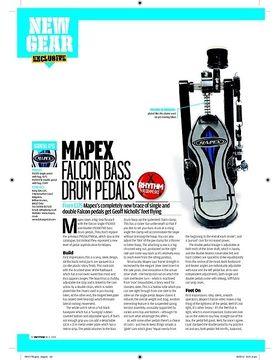 MAPEX FALCON BASS DRUM PEDALS