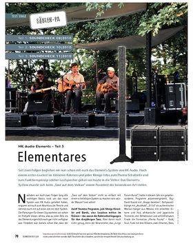 Test: HK Audio Elements (Teil 3) - Elementares