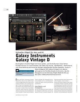 Galaxy Instruments Galaxy Vintage D