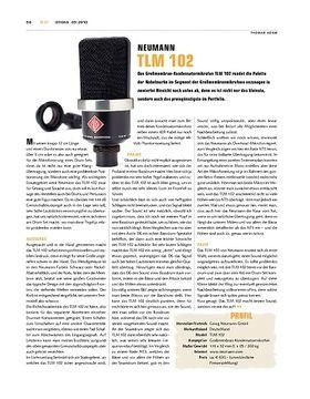 Neumann TLM 102 Mikrofon
