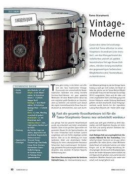 Test: Tama Starphonic - Vintage-Moderne