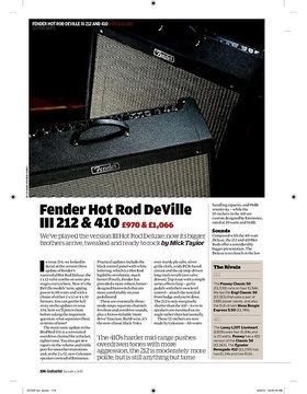 Fender Hot Rod DeVille 212 & 410