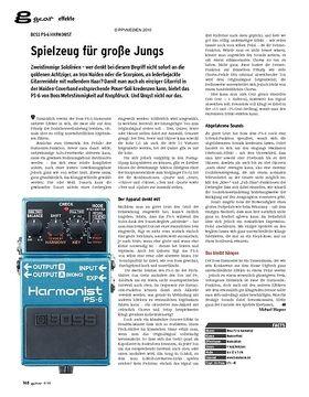 gear Effekte - Boss PS-6 Harmonist