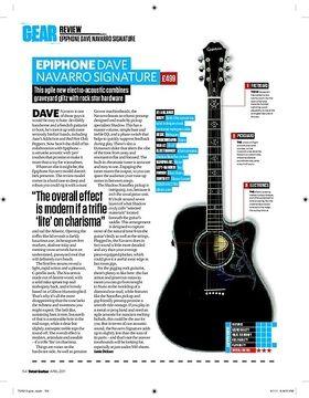 Epiphone Dave Navarro Signature