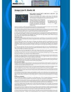 Image-Line FL Studio 10