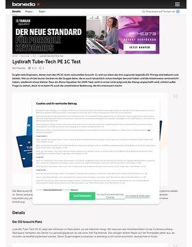 Lydkraft Tube-Tech PE 1C
