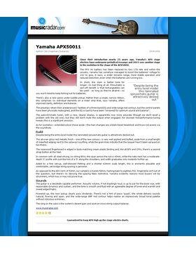 Yamaha APX50011