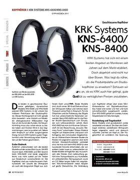 KRK Systems KNS-6400/KNS-8400