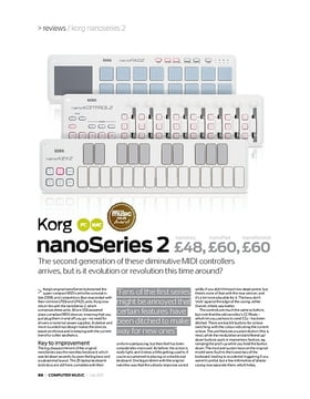 Korg nanoKey Series 2