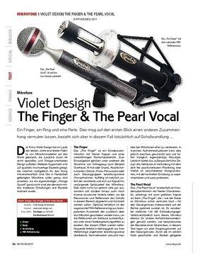 Violet Design The Finger & The Pearl Vocal