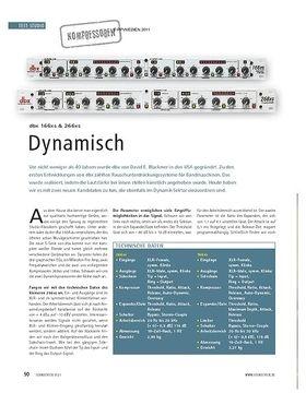 Test Kompressoren: dbx 166xs & 266xs