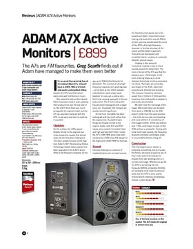 ADAM A7X Active Monitors