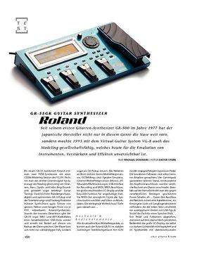 Roland GR-55GK Guitar Synthesizer