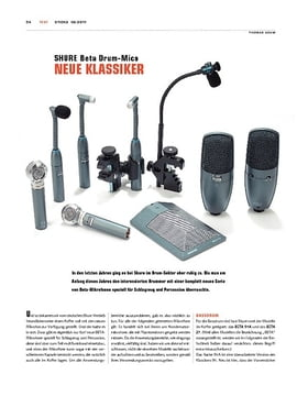 Shure Beta Drum-Mics
