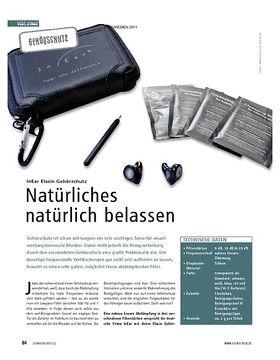 Test Gehörschutz: InEar Elacin Gehörschutz