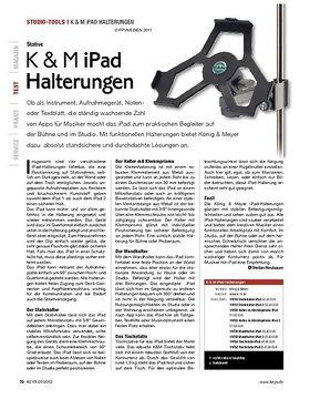 K & M iPad Halterungen