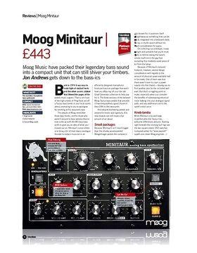 Moog Minitaur