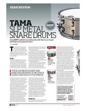 TAMA SLP METAL SNARE DRUMS