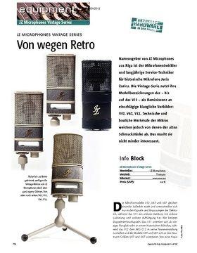 JZ Microphones Vintage Series - Von wegen Retro