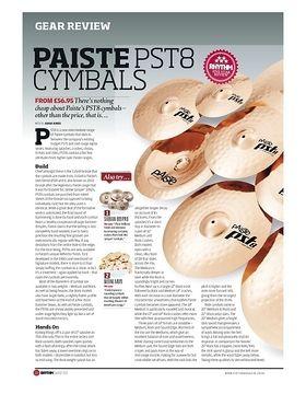 Paiste pst 8 Cymbals