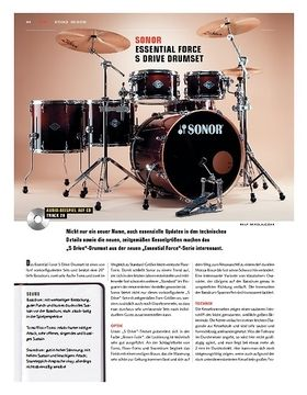 Sonor Essential Force S Drive Drumkit