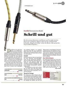 gear Zubehör - Cordial Instrumenten-Kabel