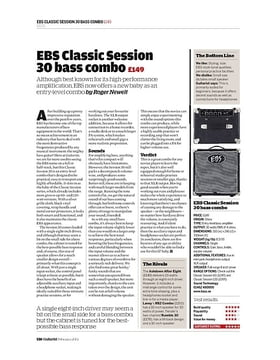 EBS Classic Session 30 bass combo