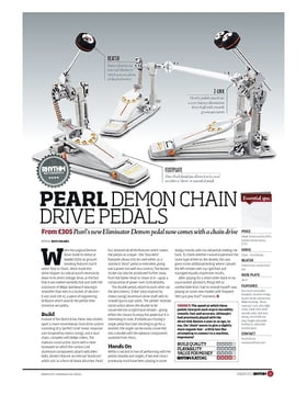 PEARL DEMON CHAIN DRIVE PEDALS