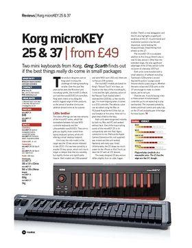 Korg microKEY 25 and 37