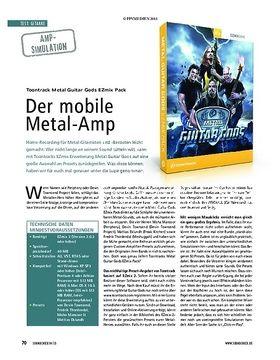 Test Amp-Simulation: Toontrack Metal Guitar Gods EZmix Pack