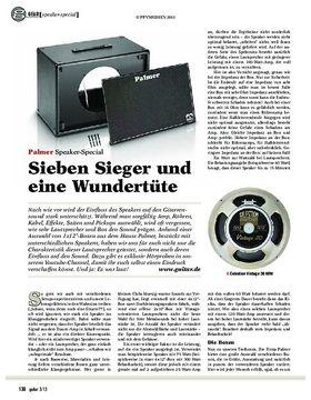 gear Speaker-Special: Palmer