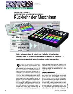 Native Instruments Maschine MK2 & Machine Mikro MK2