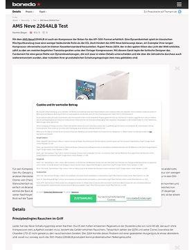 AMS Neve 2264ALB Test