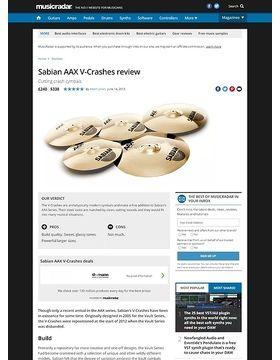 Sabian AAX V-Crashes