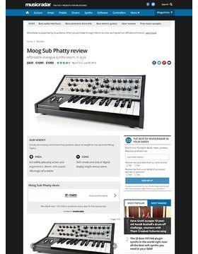 Moog Sub Phatty