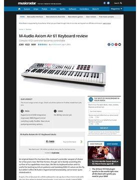 m audio axiom air 49 manual