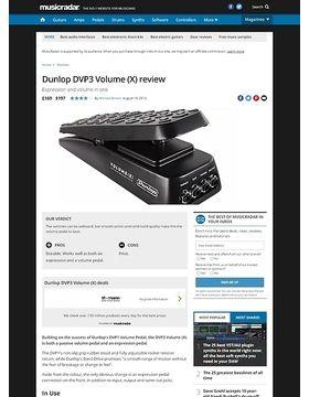 Dunlop DVP3 Volume (X)